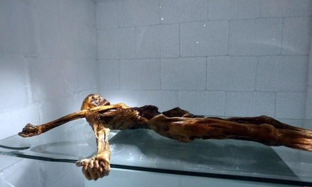 Ötzi'nin sırrı çözülüyor!