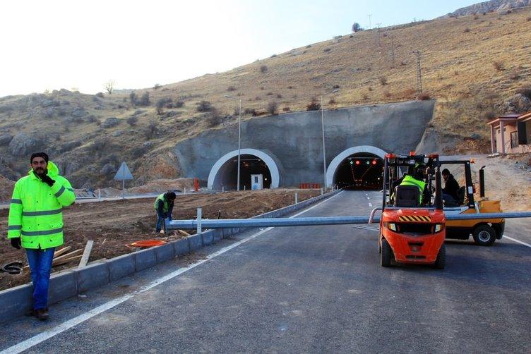 Karahan Tüneli'nde sona yaklaşıldı!