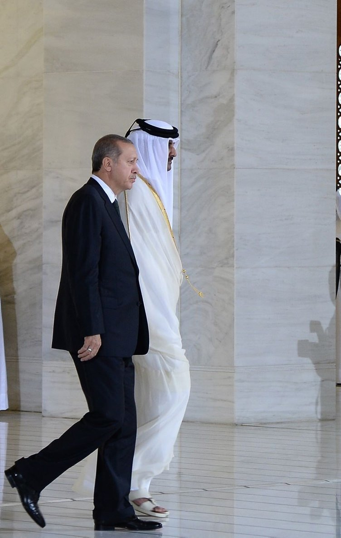 Cumhurbaşkanı Erdoğan'ın Katar ziyareti
