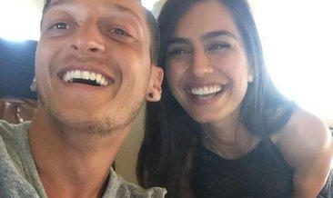 Amine Gülşe, Mesut Özil'in Londra'daki evine yerleşti