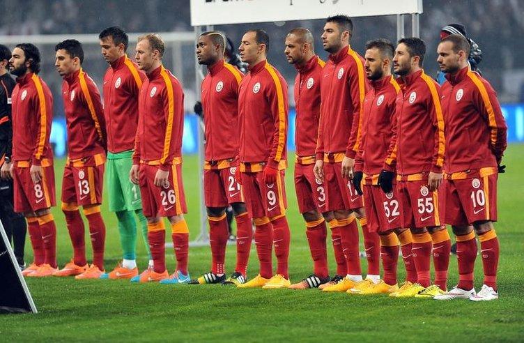 Beşiktaş - Galatasaray maçının fotoğrafları