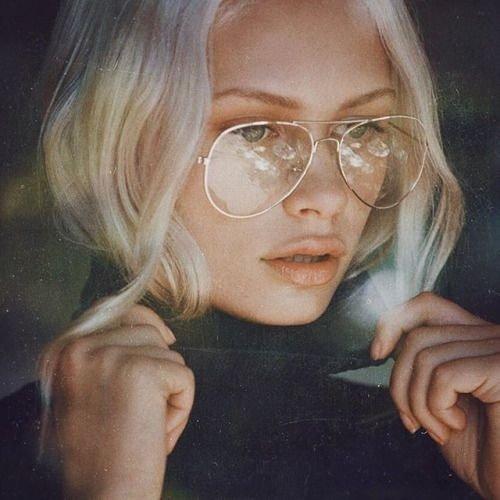 Şeffaf güneş gözlüğü modası