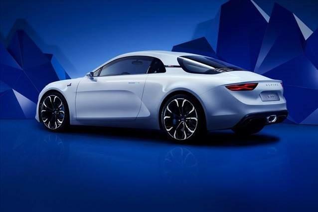 Renault Alpine Vision konsepti tanıtıldı