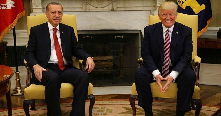 Trump'ın paylaşımına Erdoğan'dan yanıt!