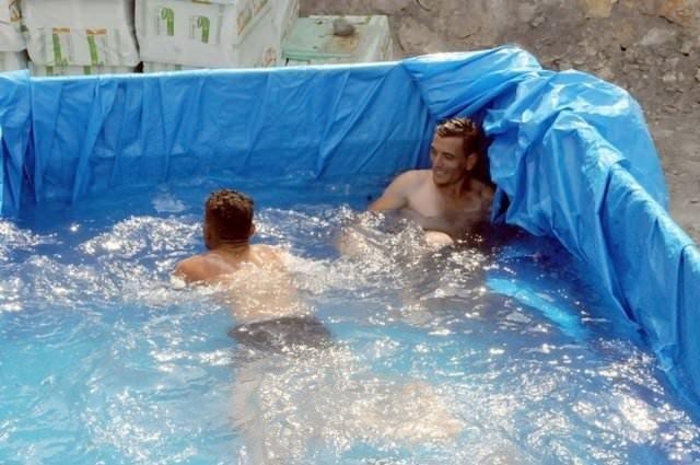 Yurdum insanı havuz sezonunu açtı