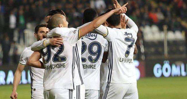 Fenerbahçe, yenilmezlik serisini 7 maça çıkardı