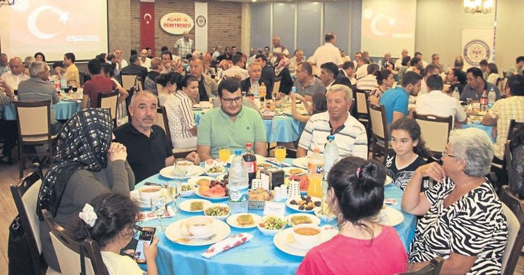 Alanya'da anlamlı iftar