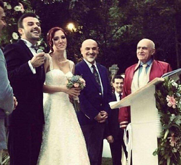Oyuncu Salih Bademci evlendi