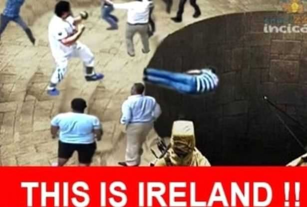 İrlandalı turist capsleri