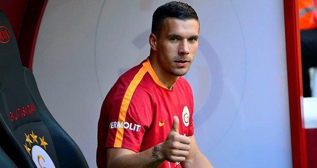 Podolski: İyi ki Galatasaray'a gelmişim
