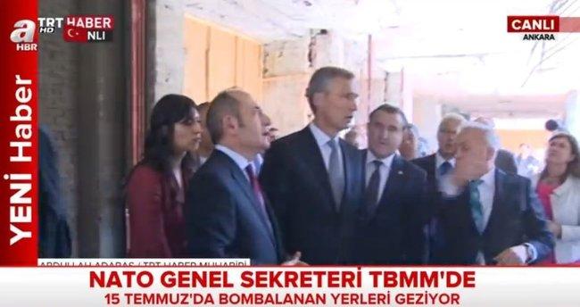 NATO Genel Sekreteri hayretle izledi