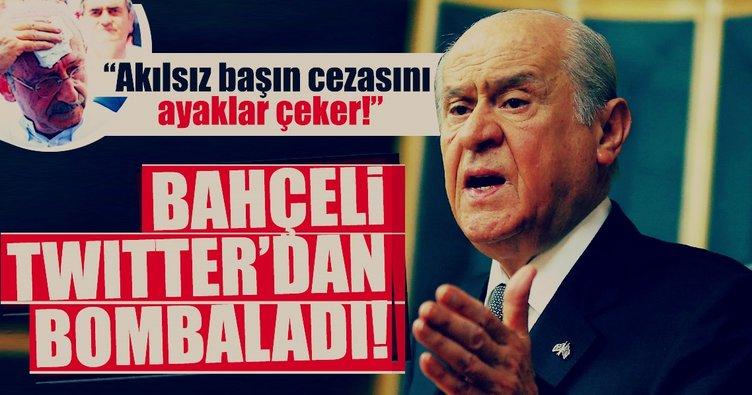 Kılıçdaroğlu'nun yürüyüşüne Bahçeli'den flaş yorum