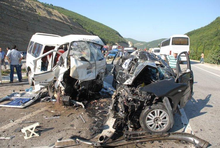 Samsun'da katliam gibi kaza