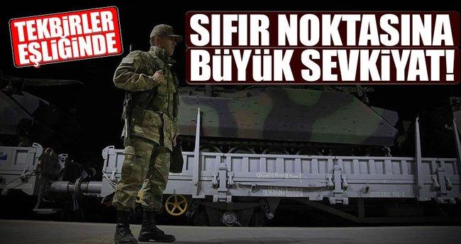 Sınıra zırhlı araç takviyesi!