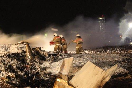 Yolcu uçağı düştü: 50 ölü!