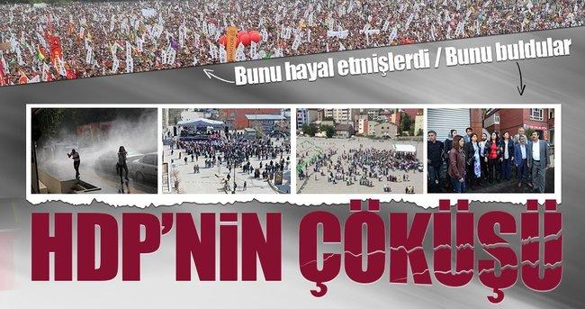 HDP Diyabakır'da kendi çöküşünü izledi