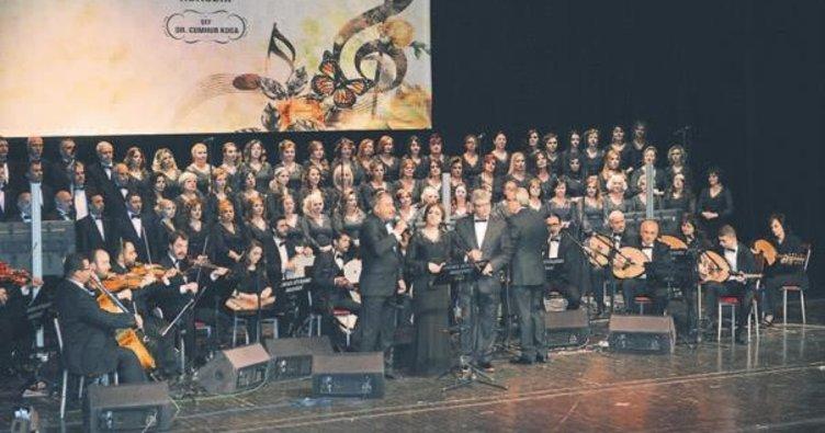 Gençlik Parkı'nda Türk sanat müziği