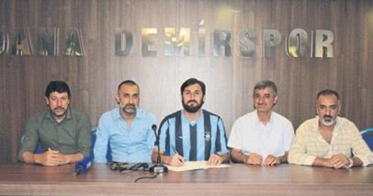 Adana Demİrspor'da ilk transfer kaleye