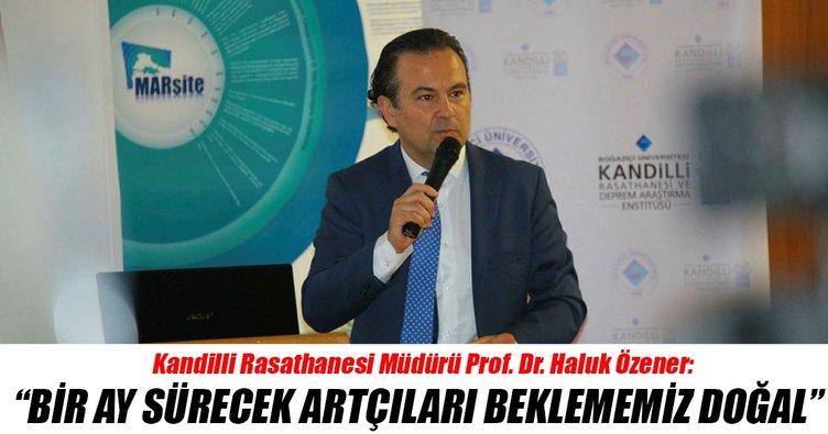 Prof. Dr. Özener: Ege Denizi ile Marmara'daki fay hatları farklı