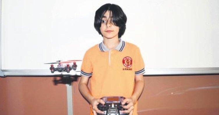 Ortaokul öğrencisinden 'bomba bulan casus drone'