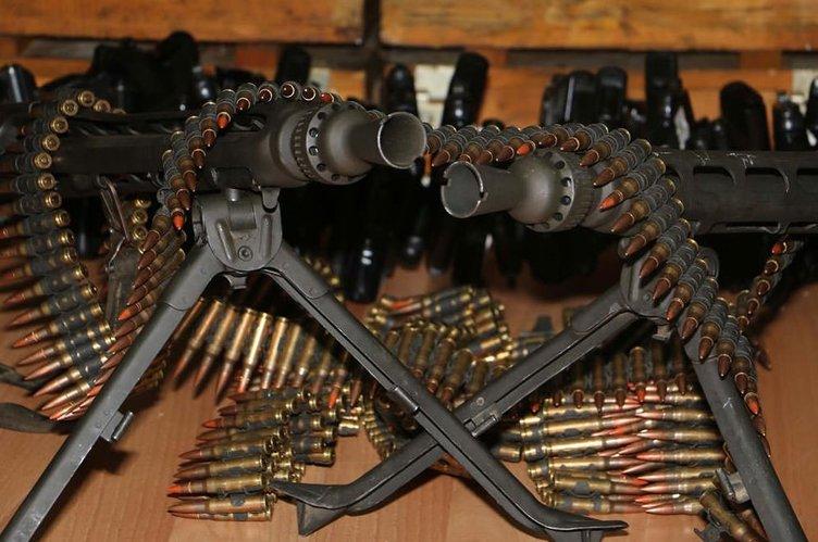 İşte darbeci hainlerin silahları