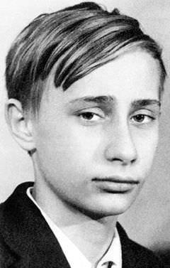 Putin'in çocukluğu hala sır!