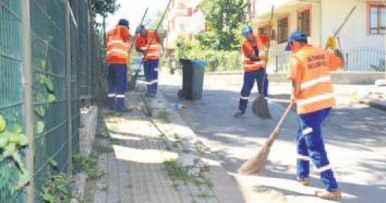 Önder ve Ulubey'de temizlik seferberliği