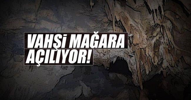 Vahşi mağara turizme açılıyor!