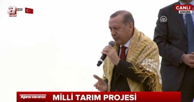 Cumhurbaşkanı Erdoğan: Birileri gelmek istemedi! Varsın gelmesinler