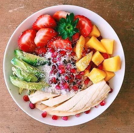 Göz doyuran rengarenk yiyecekler