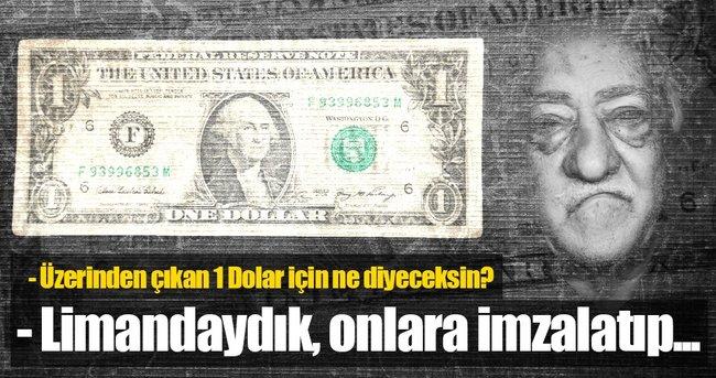 İZMİR'DEKİ FETÖ'NÜN DAVASINDA İLGİNÇ 1 DOLAR SAVUNMASI