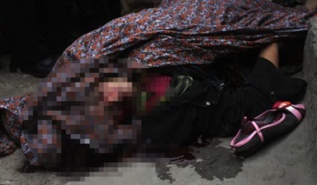 3 aylık hamile kadını taşlayarak öldürdüler