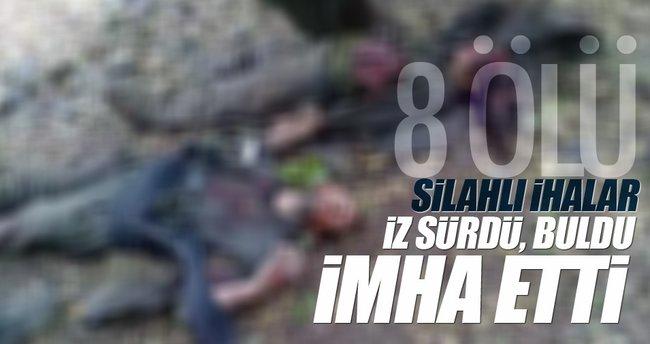 Faraşin'de Silahlı İHA'larla terör operasyonu: 8 terörist öldürüldü