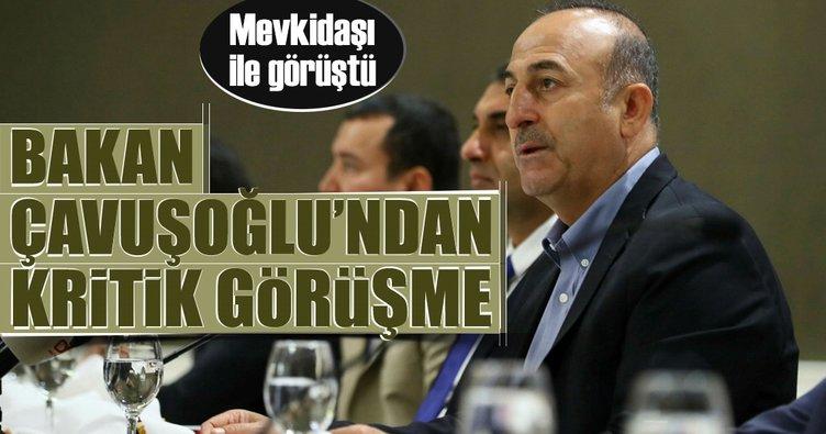 Çavuşoğlu ABD'li mevkidaşı ile görüştü