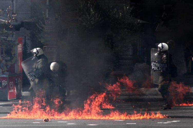 Yunanistan'da grev