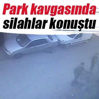 Park tartışması silahlı kavgaya dönüştü