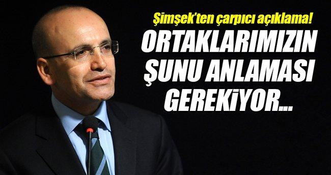 Başbakan Yardımcısı Şimşek'ten çarpıcı açıklama!
