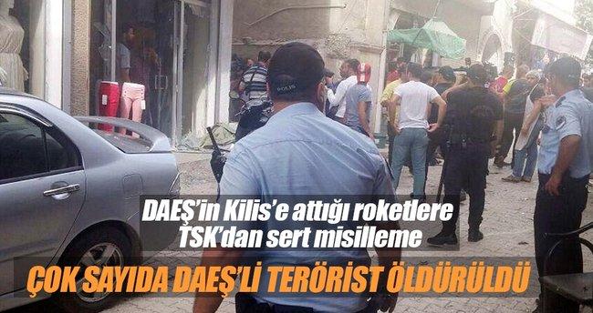 TSK: Suriye'de 2 bölge havadan vuruldu