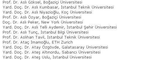 PKK'yı destekleyen akademisyenlere 610 akademisyenden destek! İşte o isimler...