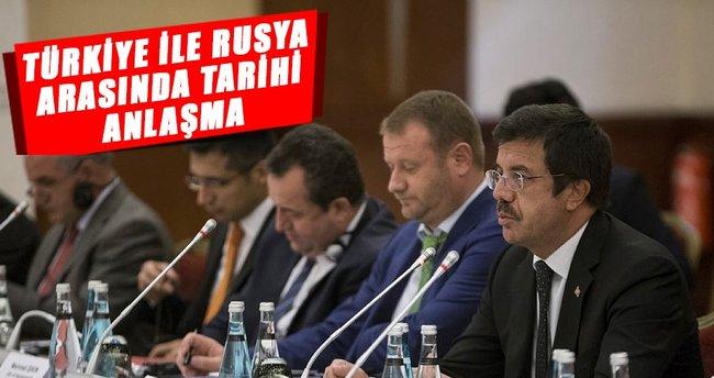 Türk-Rus ortak deklarasyonu imzalandı