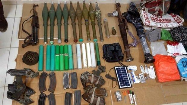 Silvan'da PKK'ya ağır darbe!İşte o mühimmatlar
