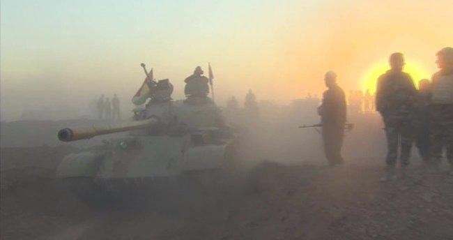 Irak ordusu Musul'un Kokceli Mahallesi'ne girdi