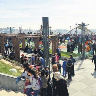 Üsküdar'da Şenol Güneş Parkı açıldı