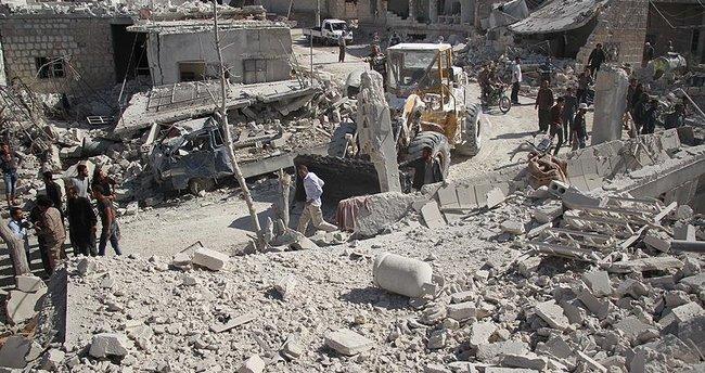 İdlib'de bir okulun bombalanmasında 22 çocuk öldü