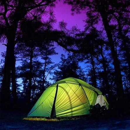 Kamp hayatından muhteşem kareler