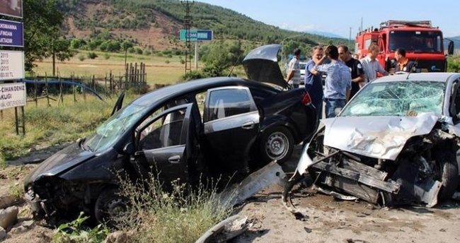 Tatilin 5'inci gününde kaza bilançosu; 41 ölü, 199 yaralı