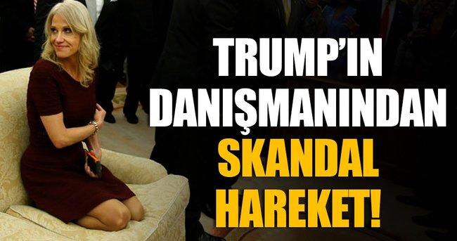Trump'ın danışmanından skandal hareket