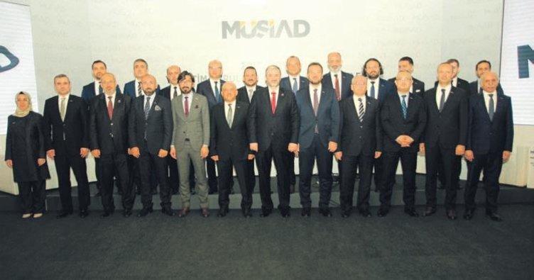MÜSİAD yönetimi 81 ile TOSİ kuracak