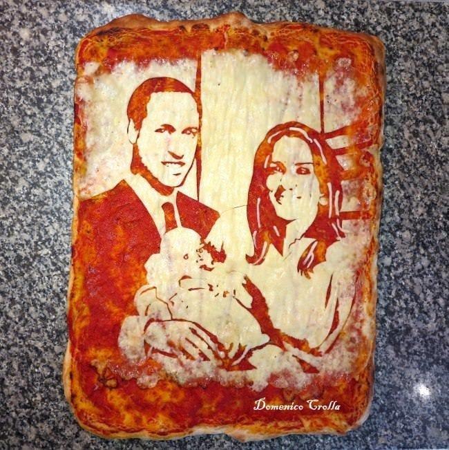 Ünlülerin pizza hali