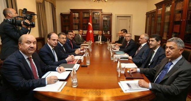EKK, Başbakan'ın programı nedeniyle iptal oldu